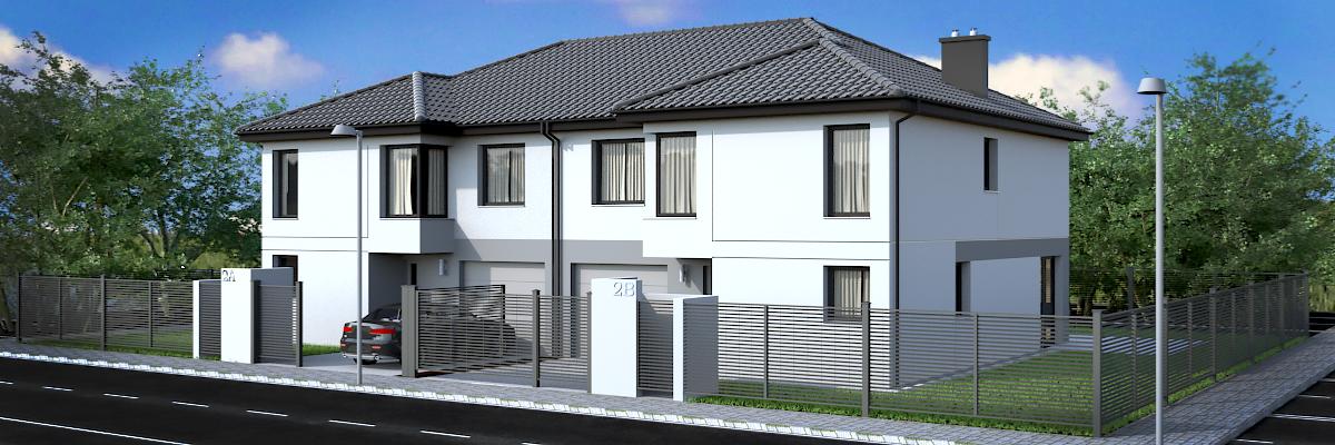 Sianokosow  street twin-house