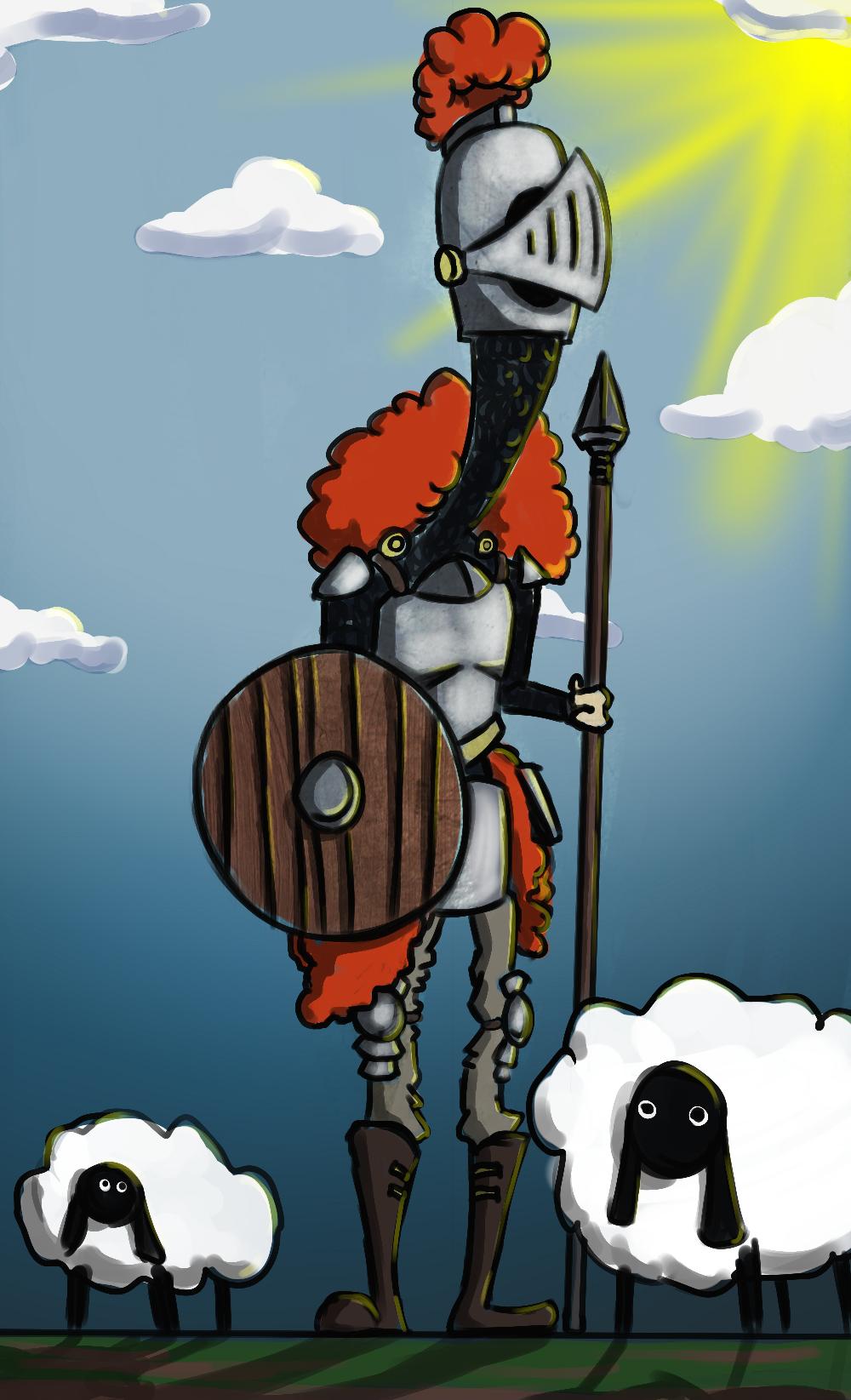Knight shepherd