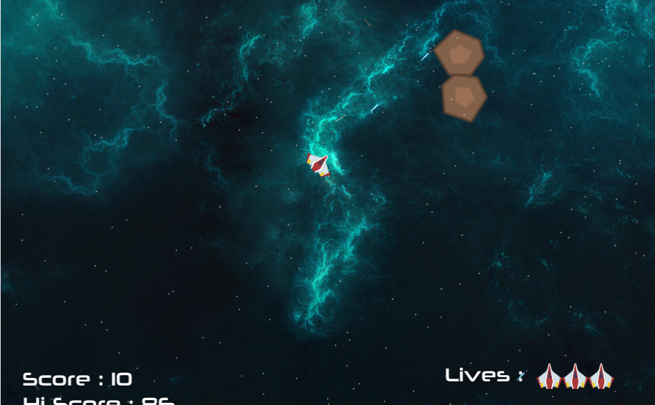 Unity Game : Astro Blast - Asteroids Clone