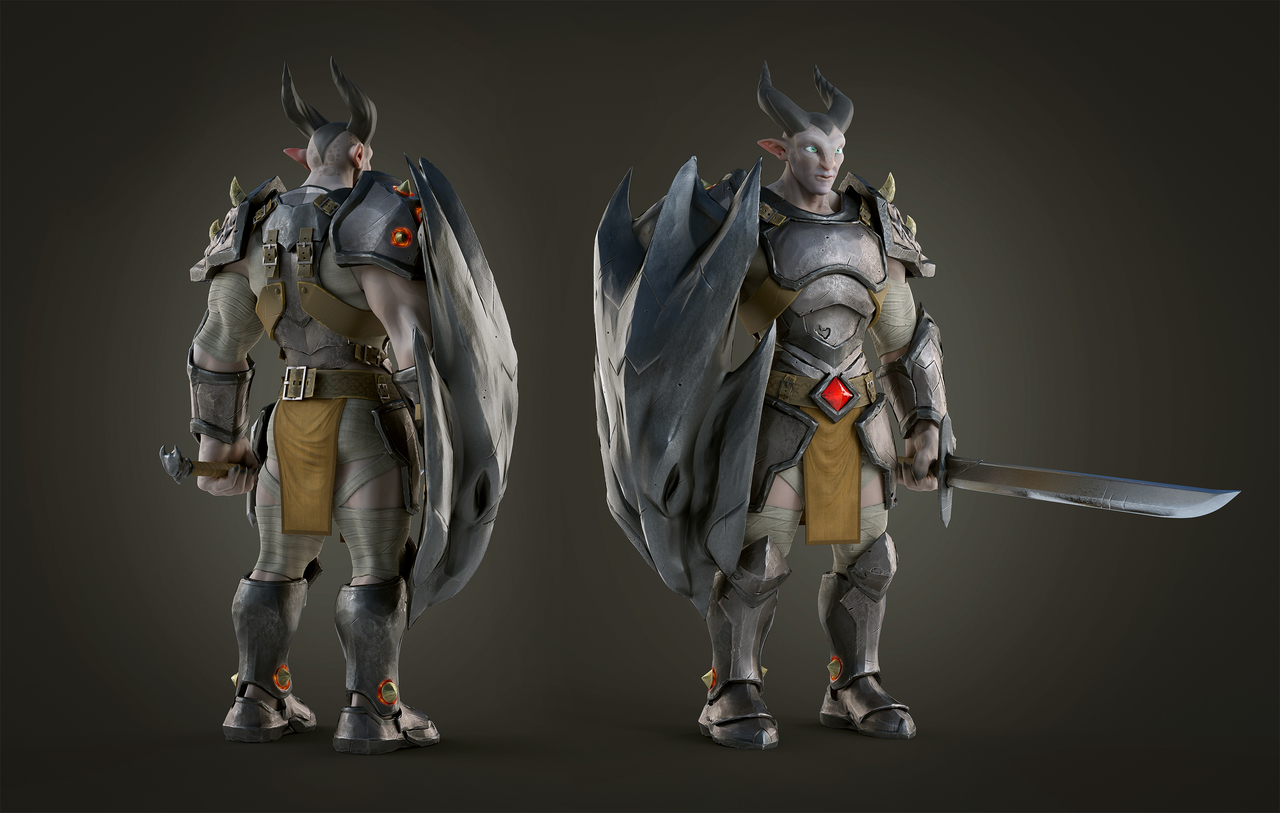 Dragon knight Character