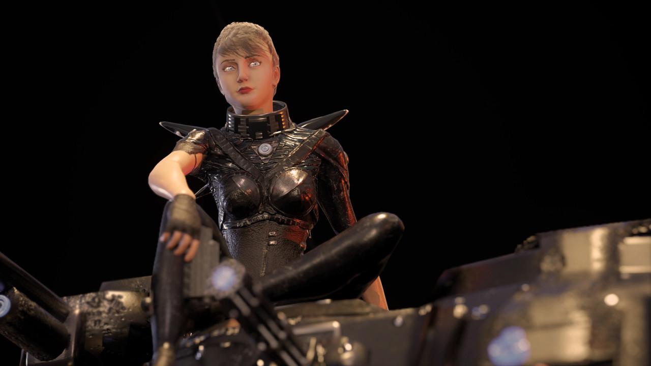 Helena, former Black Scythe mecha pilot.
