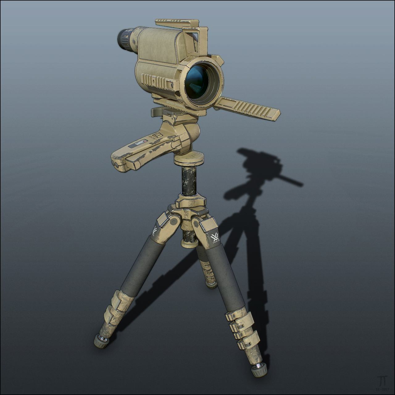 Tactical Spotting Scope