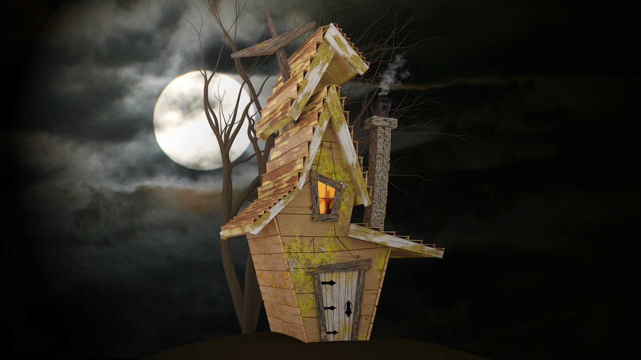 Eery Fantasy Cottage