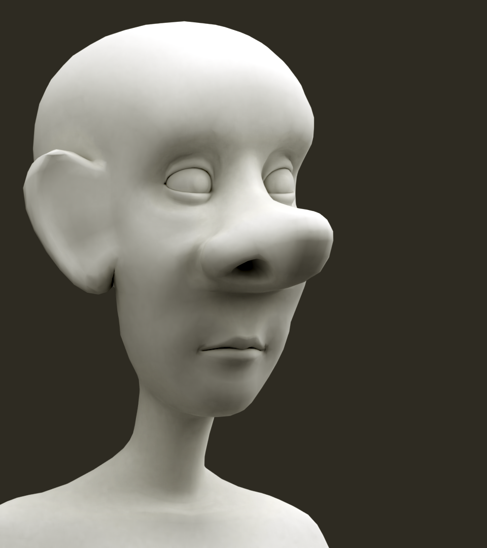 3D man - Dad character