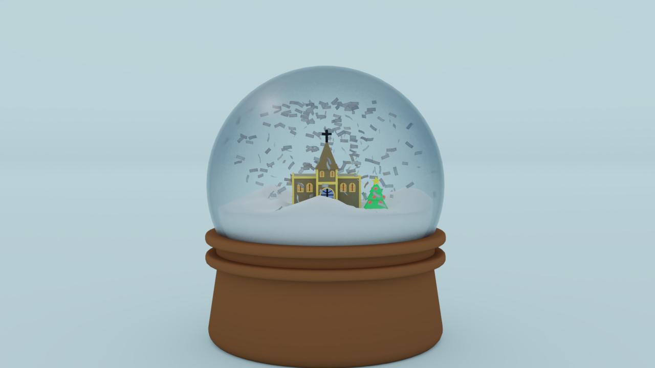 snow globe take 2
