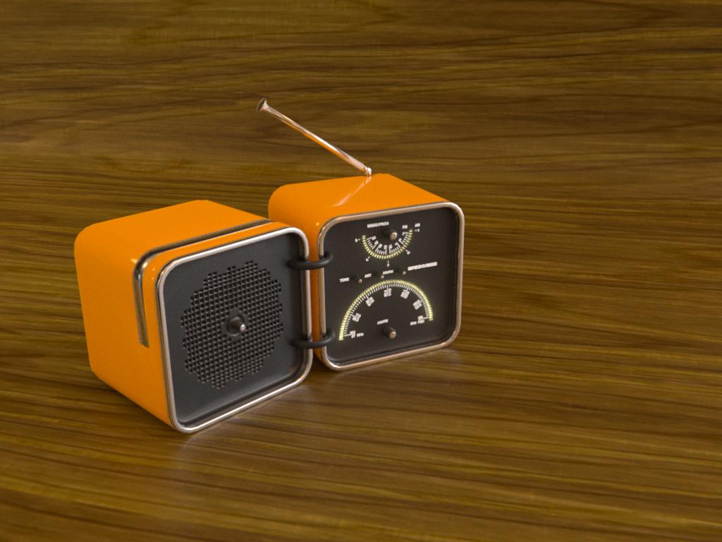 Fantasy Cube [Radio Brionvega]