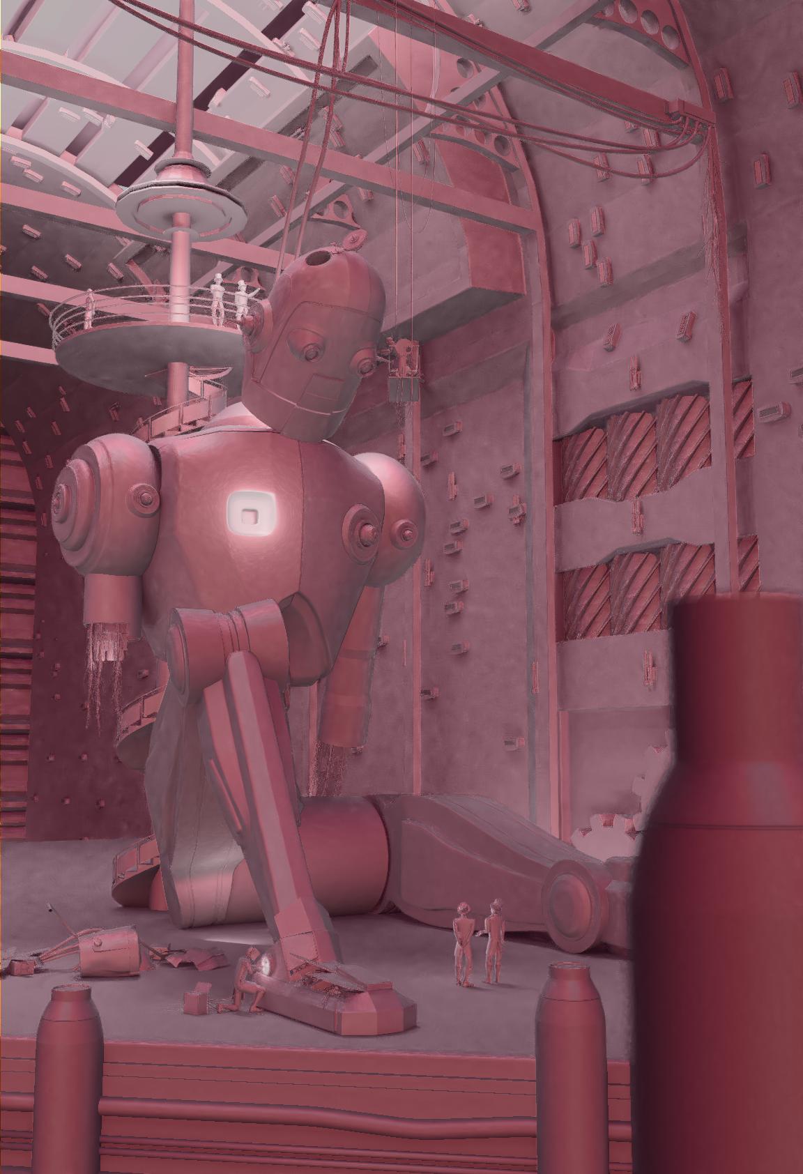 Steam Punk Robot