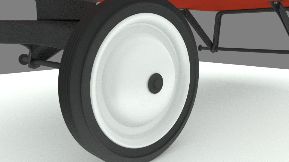 Radio Flyer Shader and Rigging Update