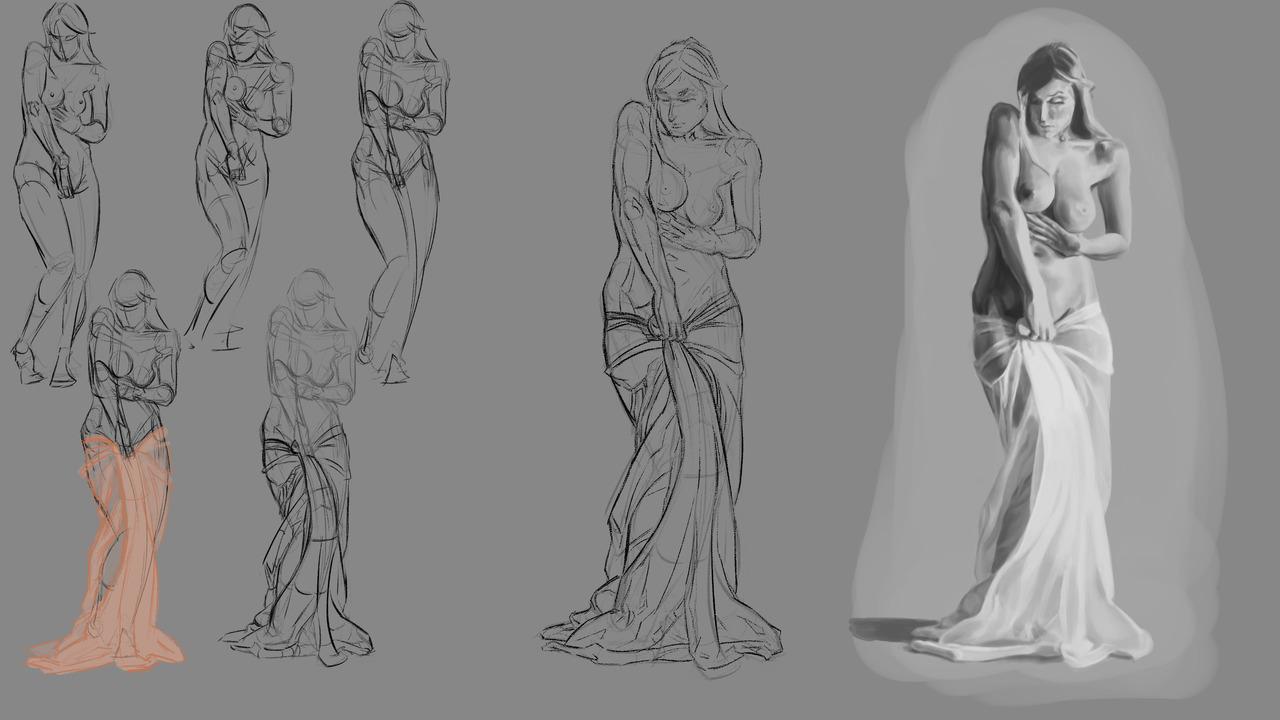 Painting Study - Pose - Week01