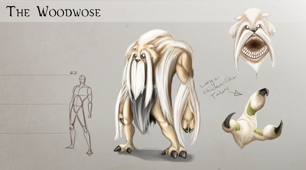 Woodwose Creature