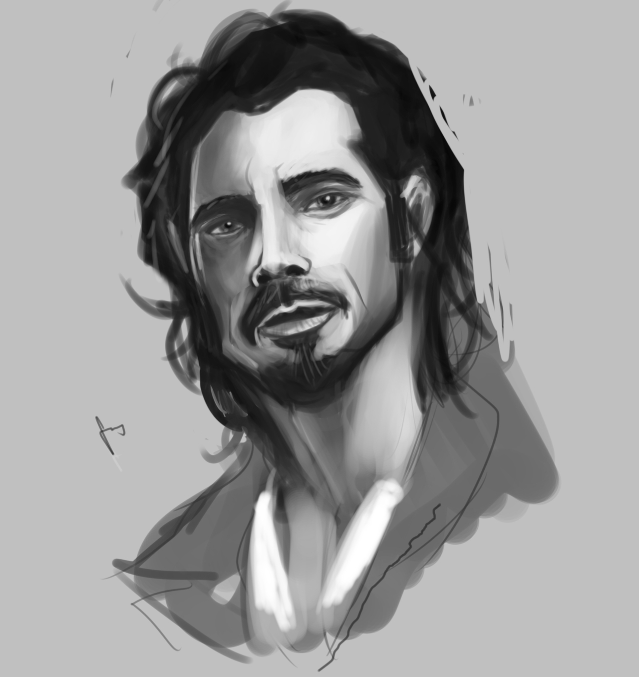 Chris Cornell portrait