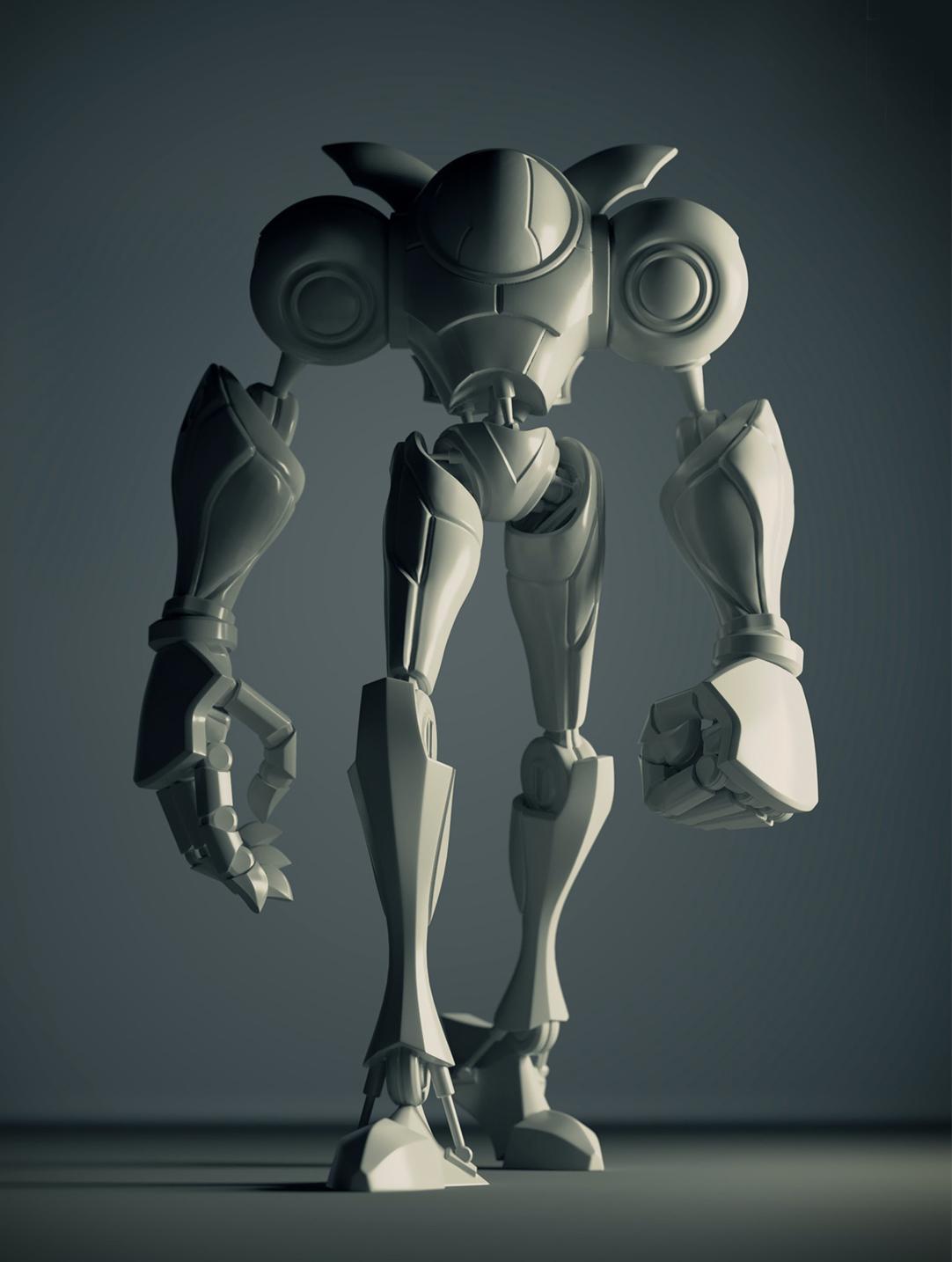 Robot Model and Print