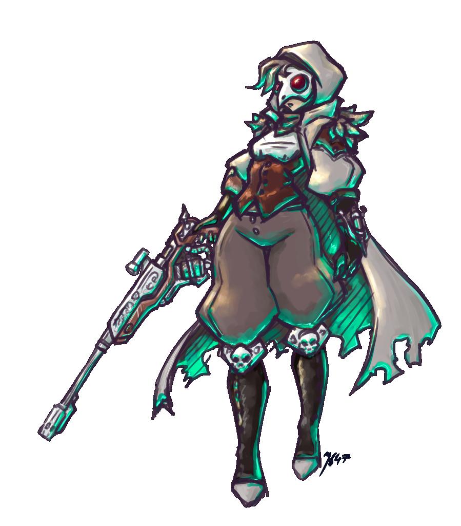 Plague doctor Anna
