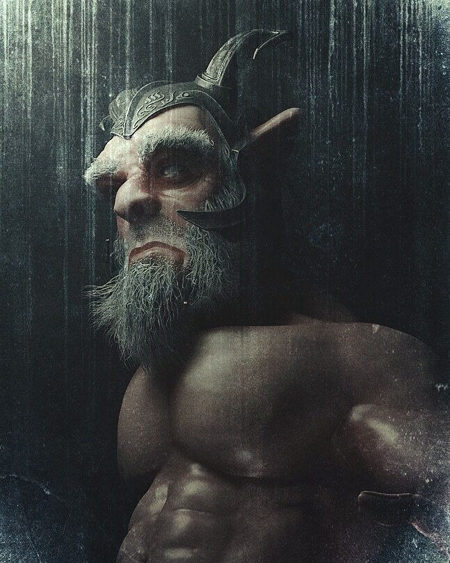 Graphic Novel Character - Orgúl