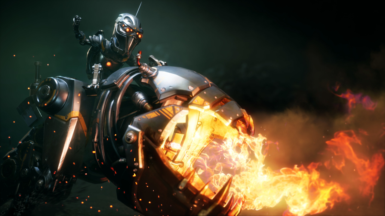 Paragon Promo work for Epic Games