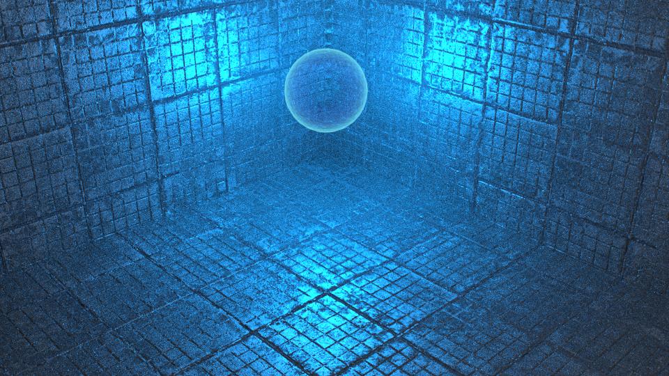 Blue Light Ball