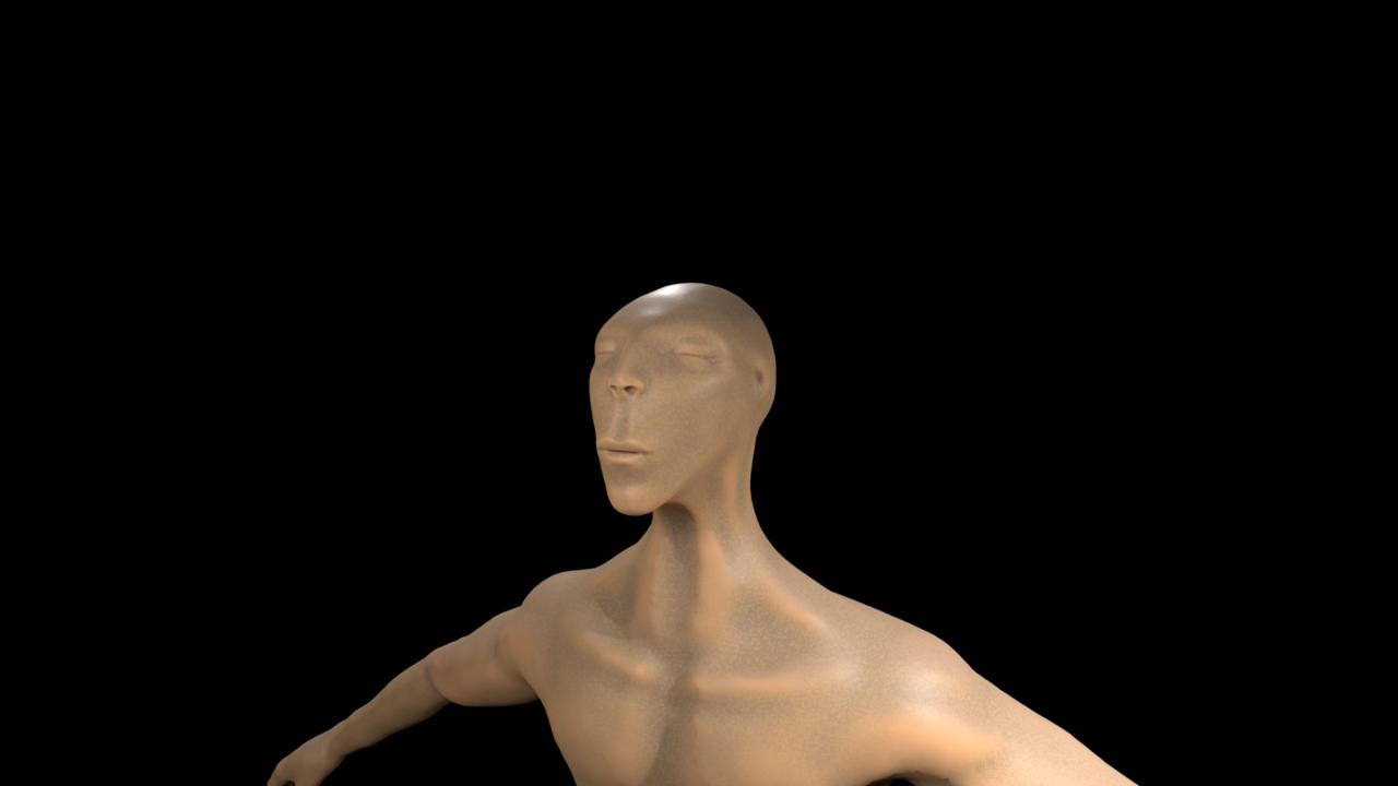 First procedural texture