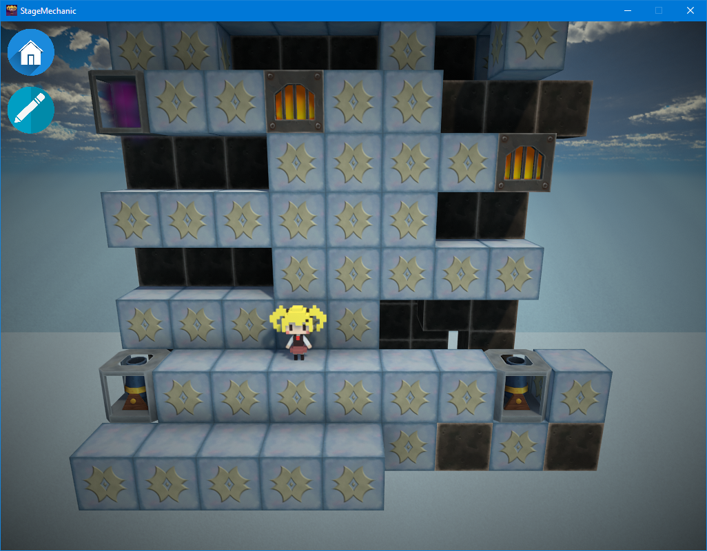 StageMechanic Game Engine