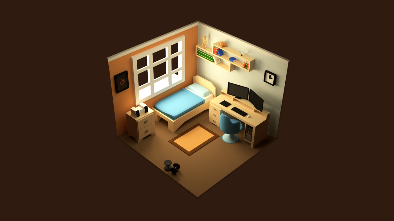 My Isometric Bedroom