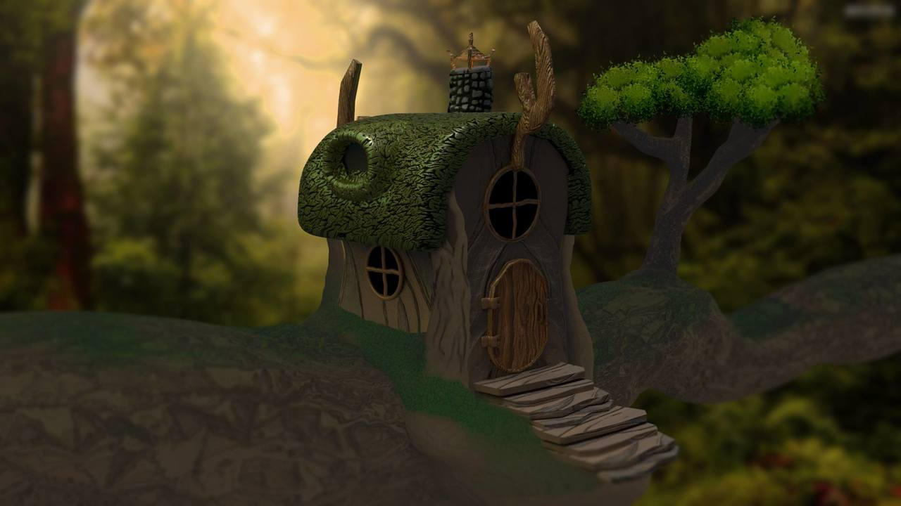 Fairy Tale Tree House