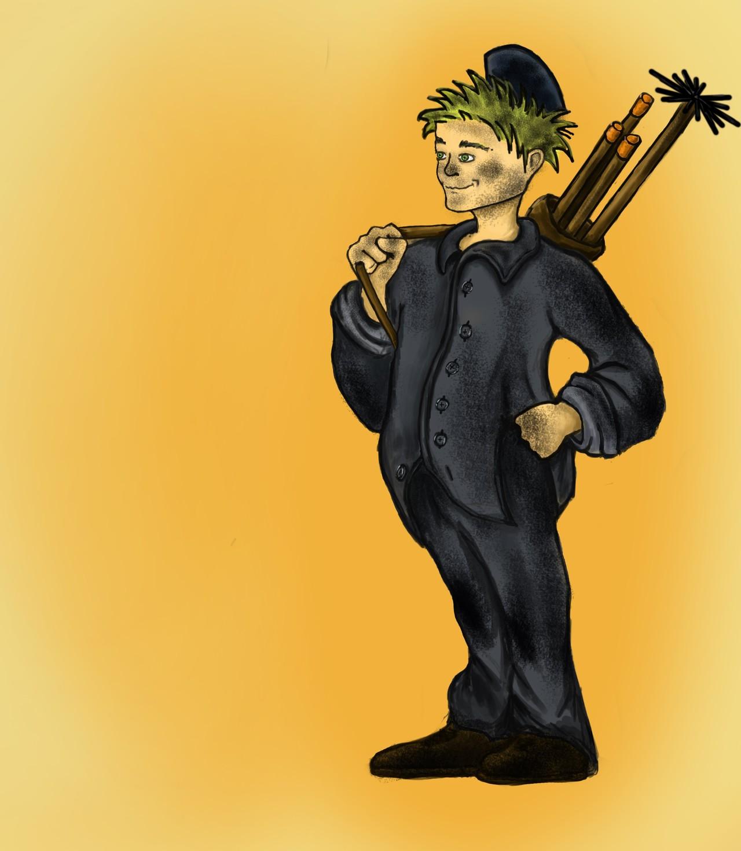Chimney sweeper kid Cuthbert