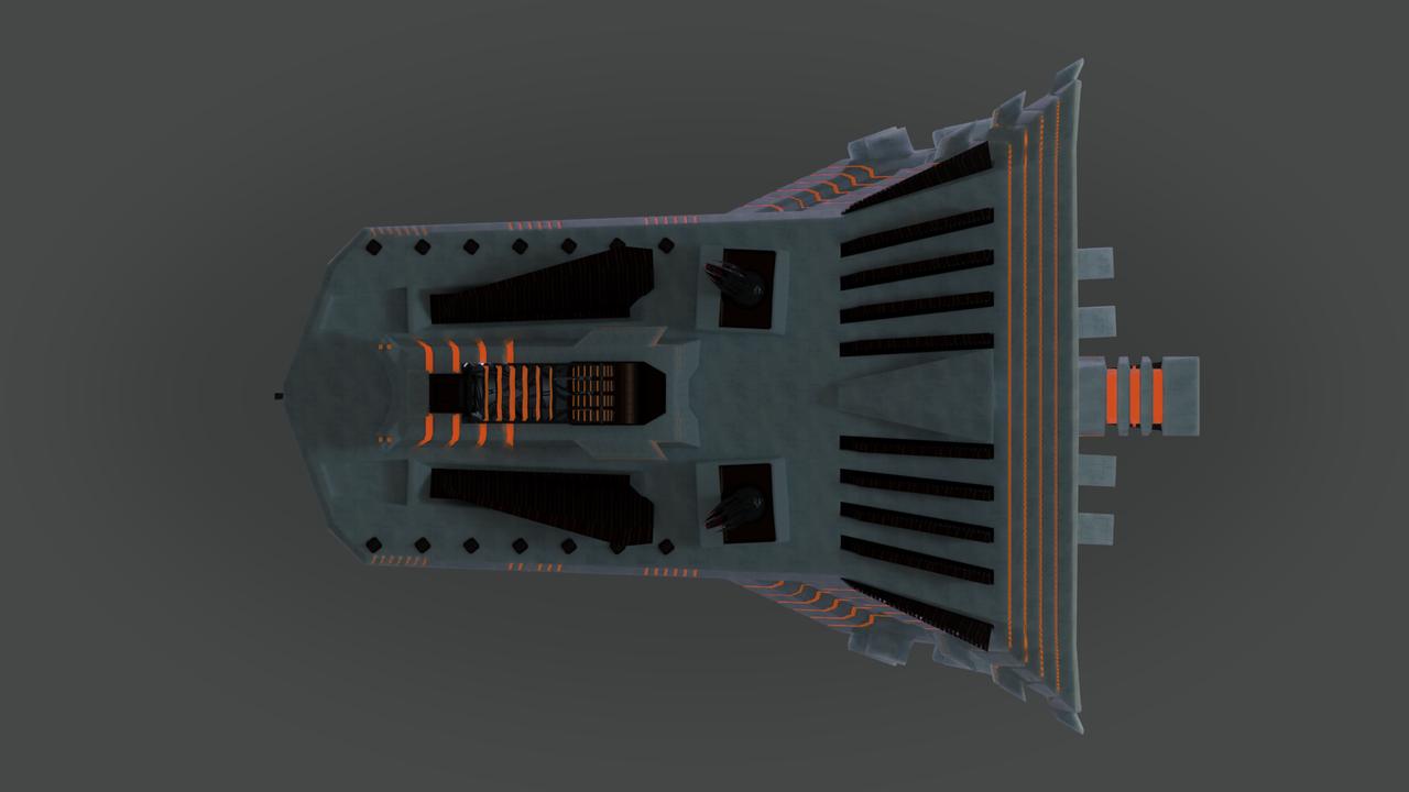 Colossus destroyer spaceship
