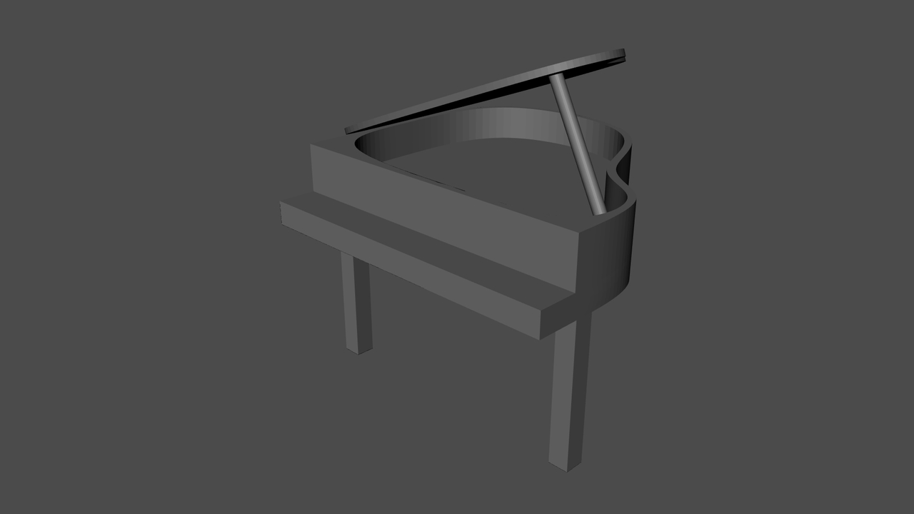 Piano Block Out