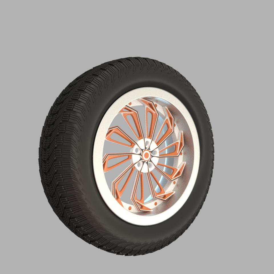 Modeling exercice - wheel