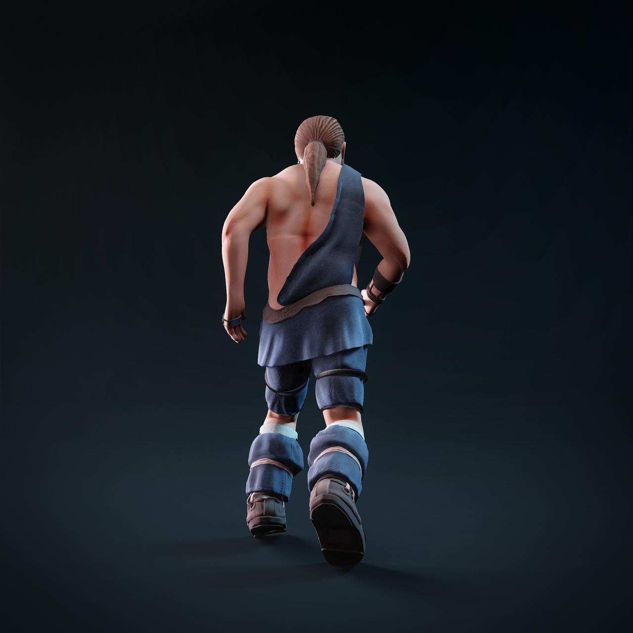 Male character Blender eevee
