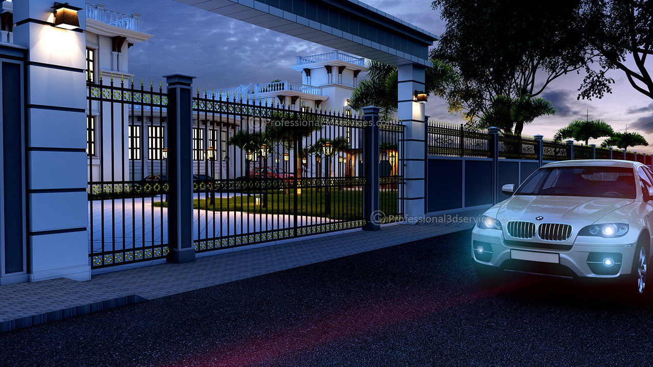 Architectural 3D Exterior Rendering Services
