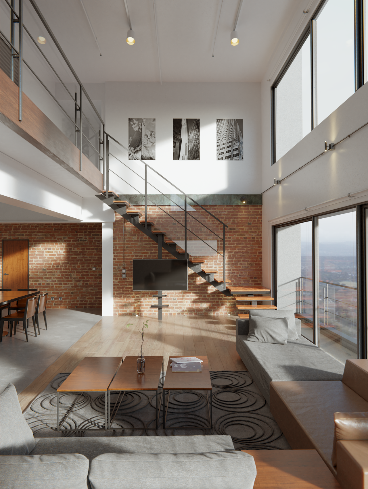 Industrial Apartment