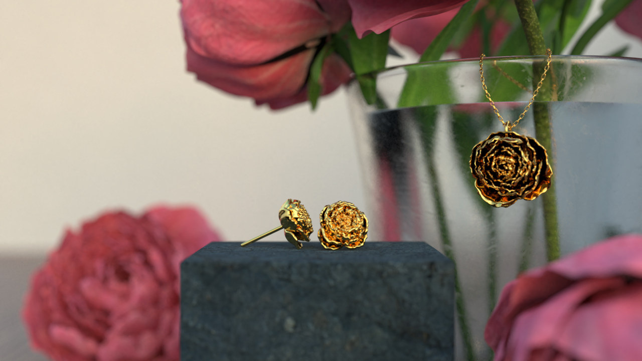 Peony Jewelry