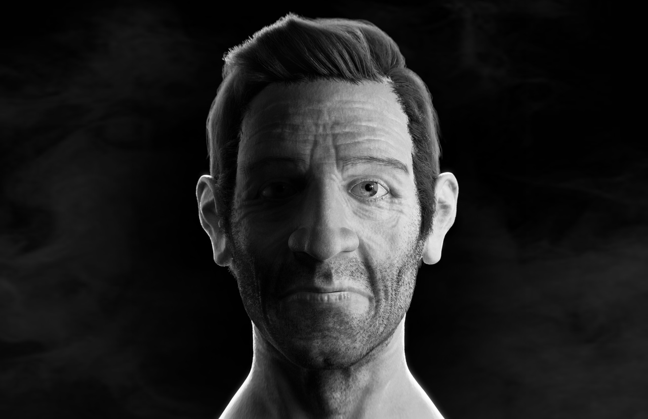 Human shading and lighting Test