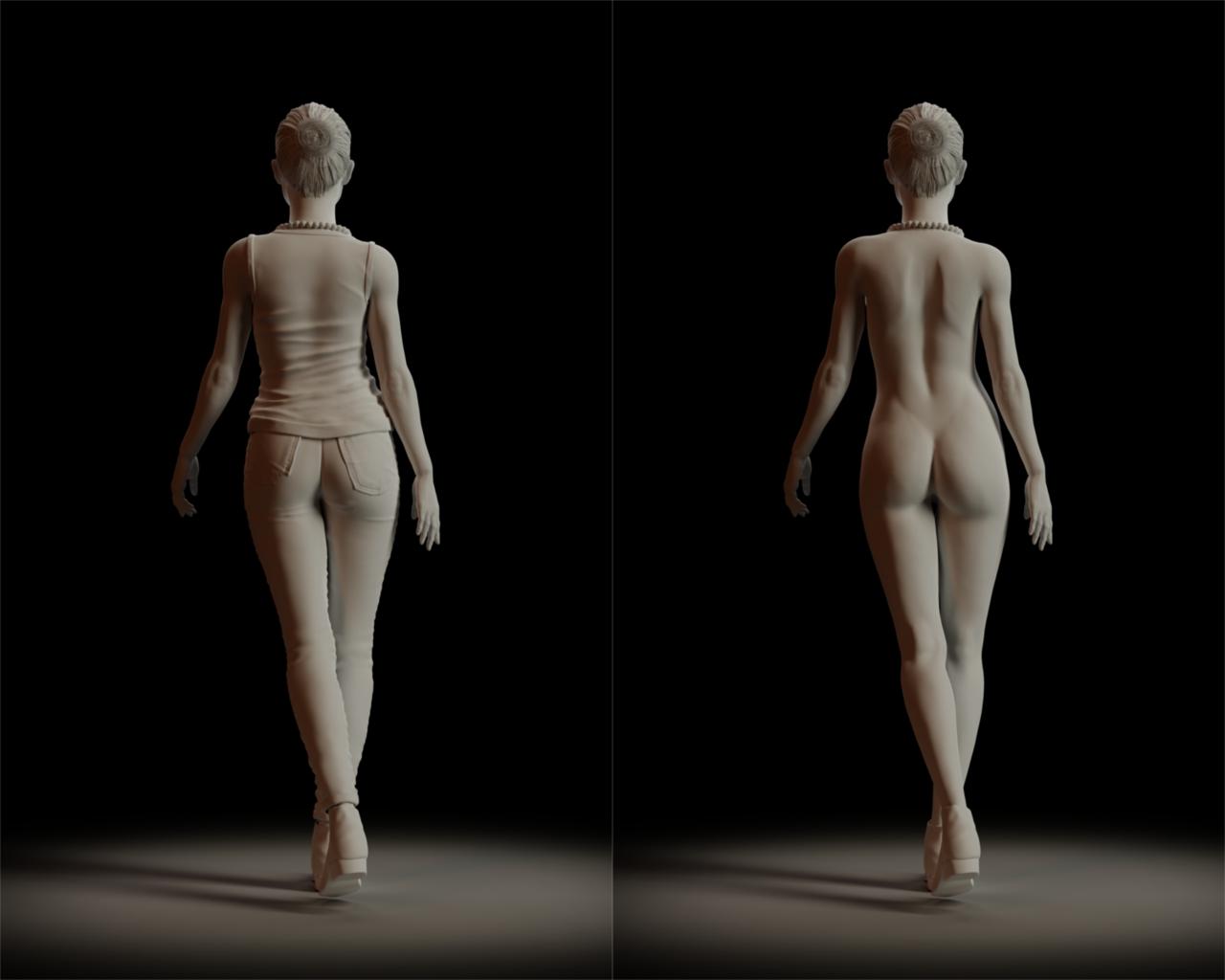 Female Character Study