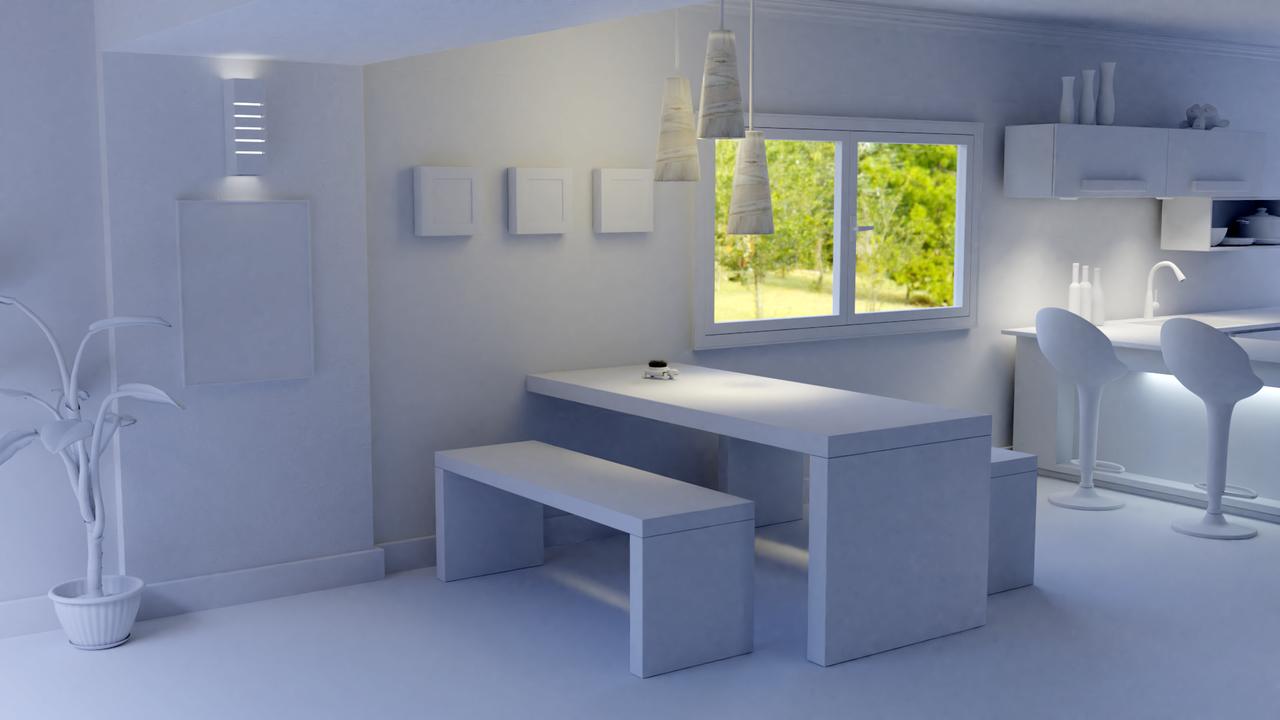 Interior Design - Dinning Table