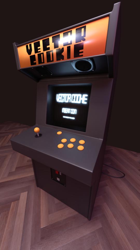 An Arcade Cabinet