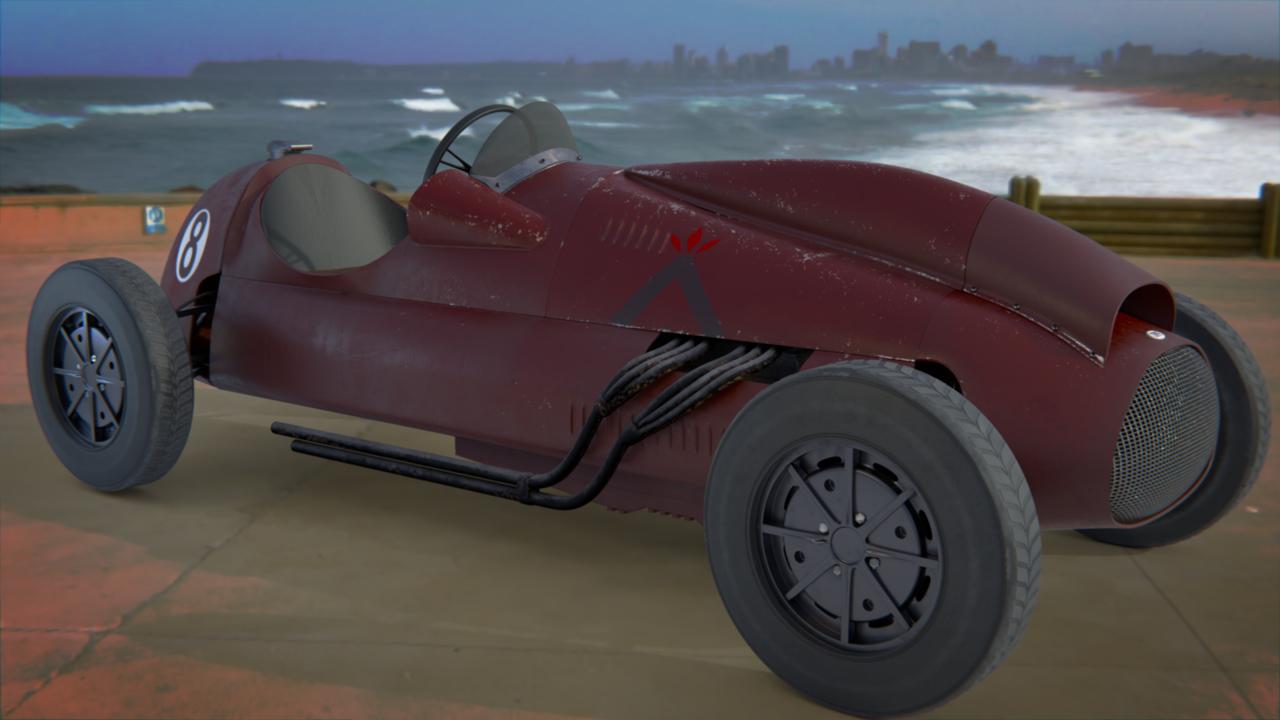 Cooper-Bristol vintage race car