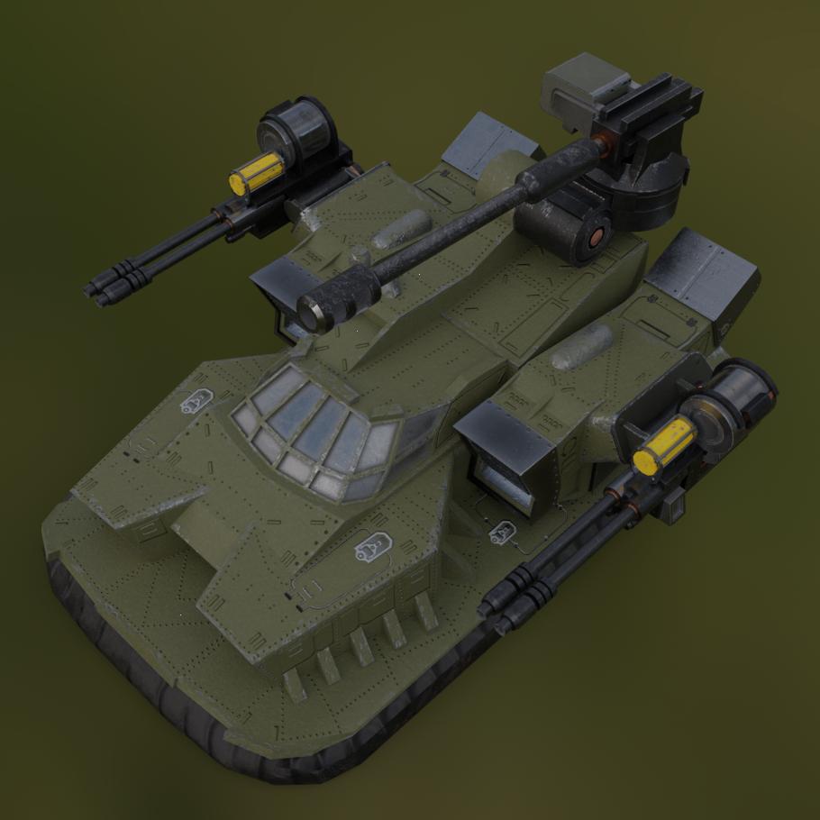 """Hover Tank Arena """"BRAMBLE"""""""