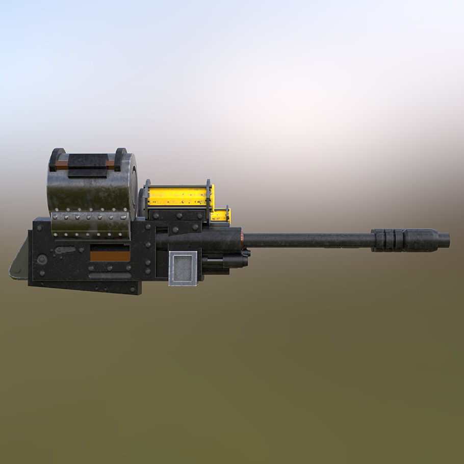 Hover Tank Arena Autocannons