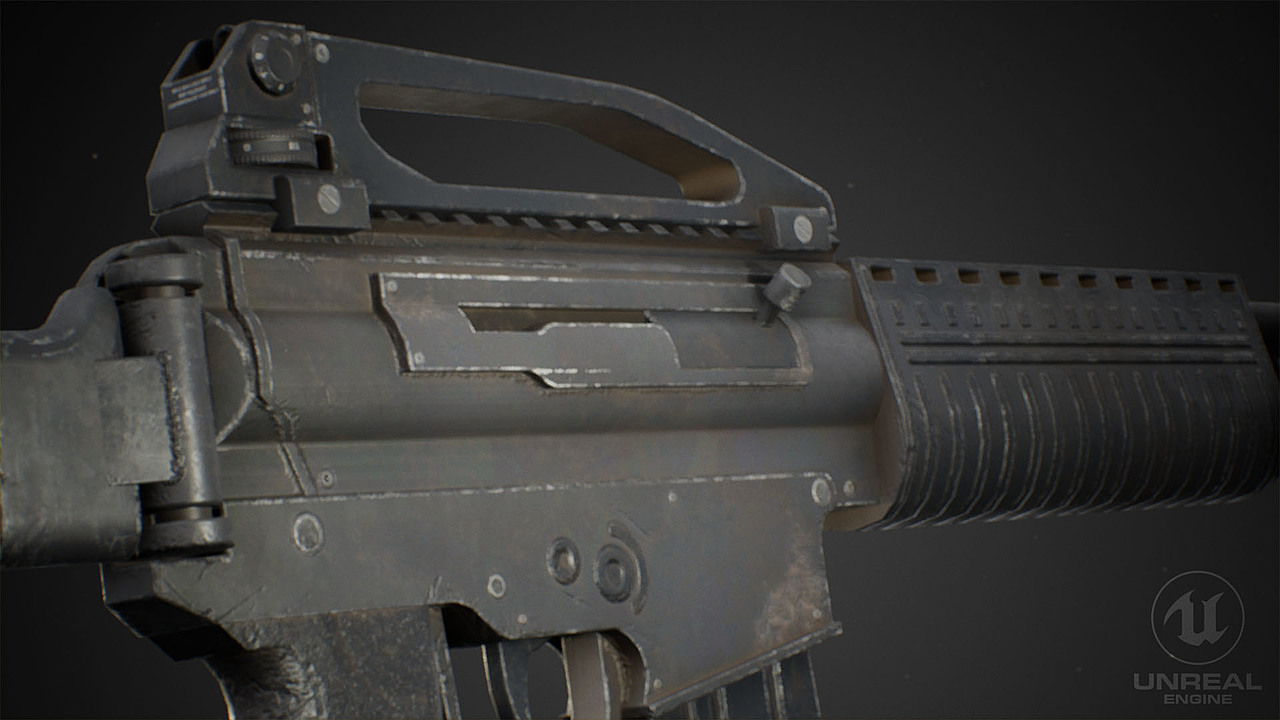 SS2 Assault Rifle