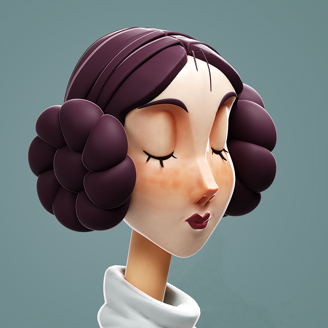 Princess Leia from Starwars fanart