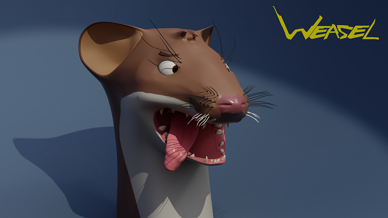 Derpy Weasel