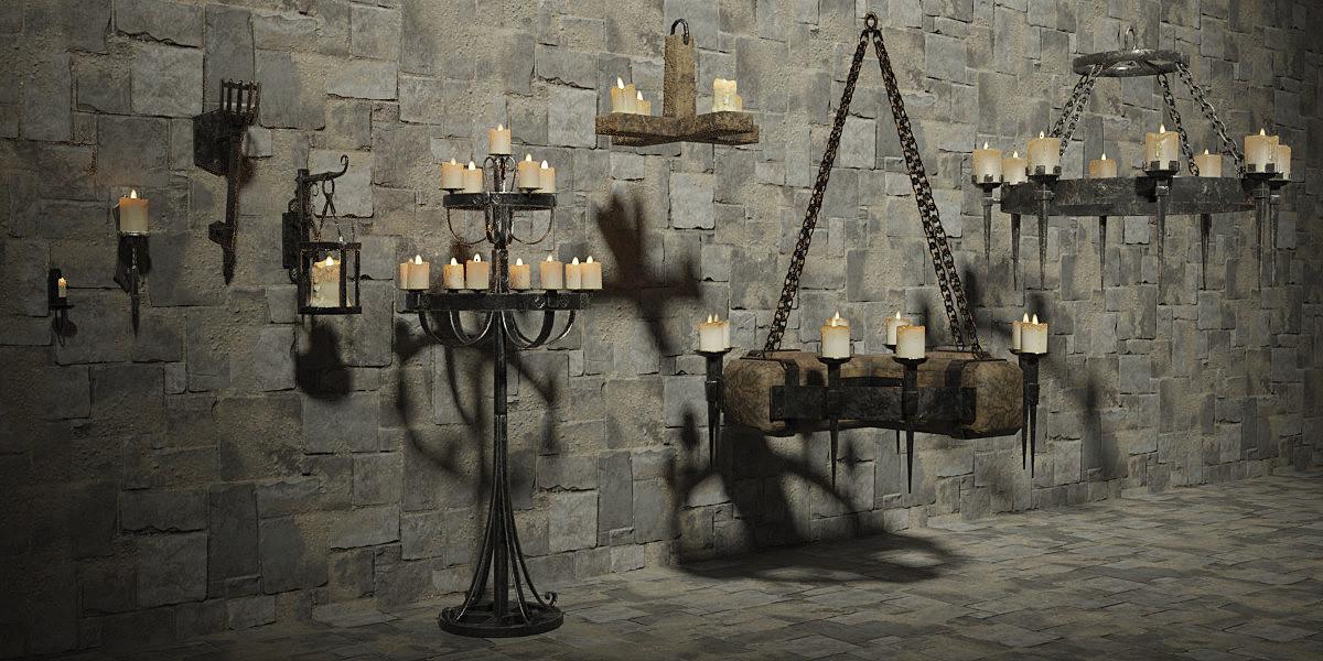 Medieval Lighting Pack - Finished!