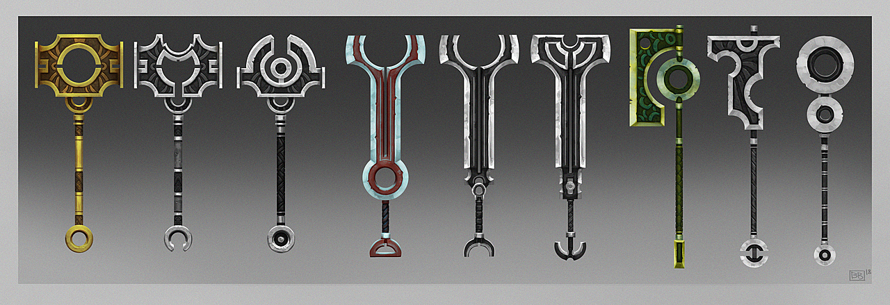 Rough Weapon Concepts
