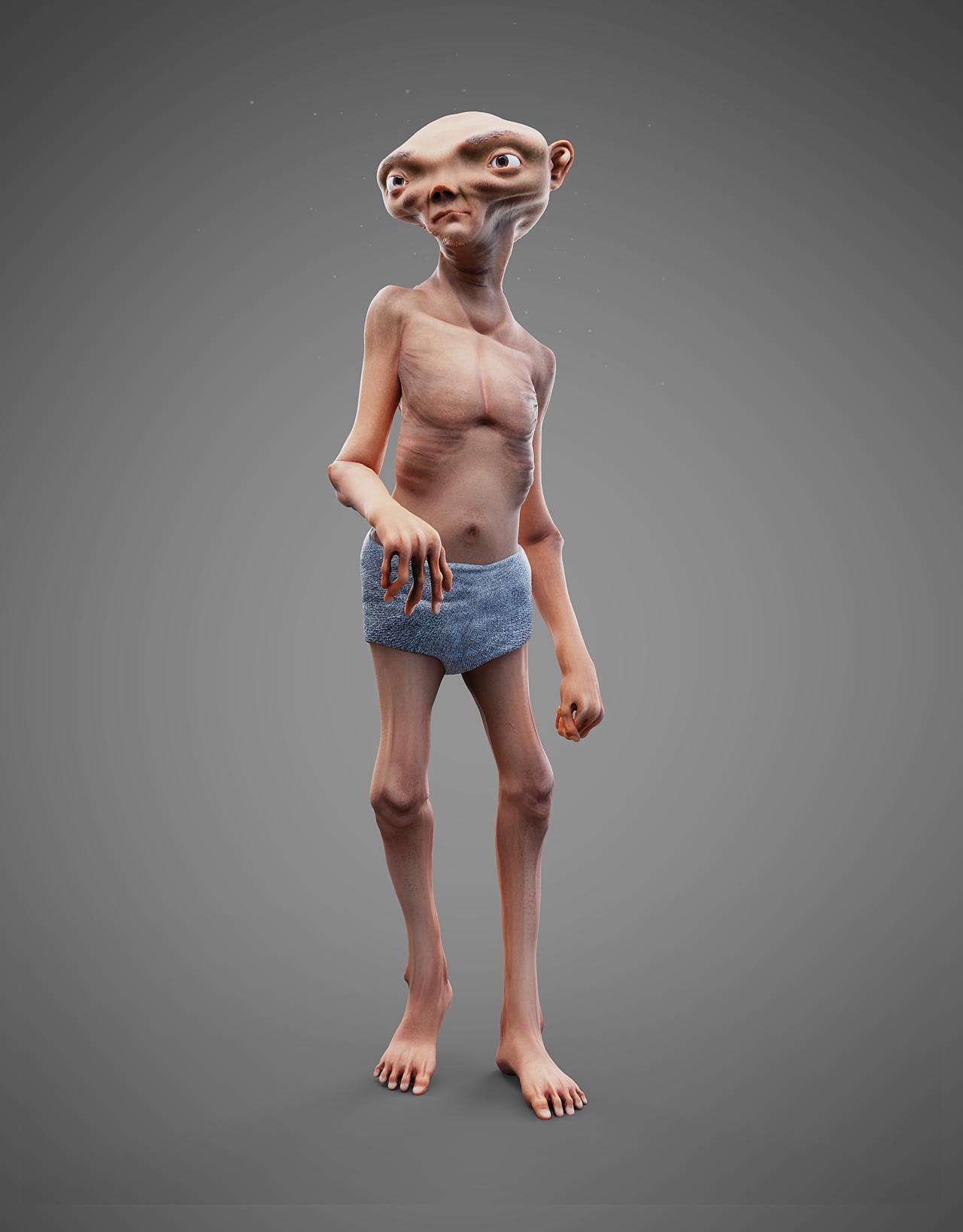 Humanoid creature
