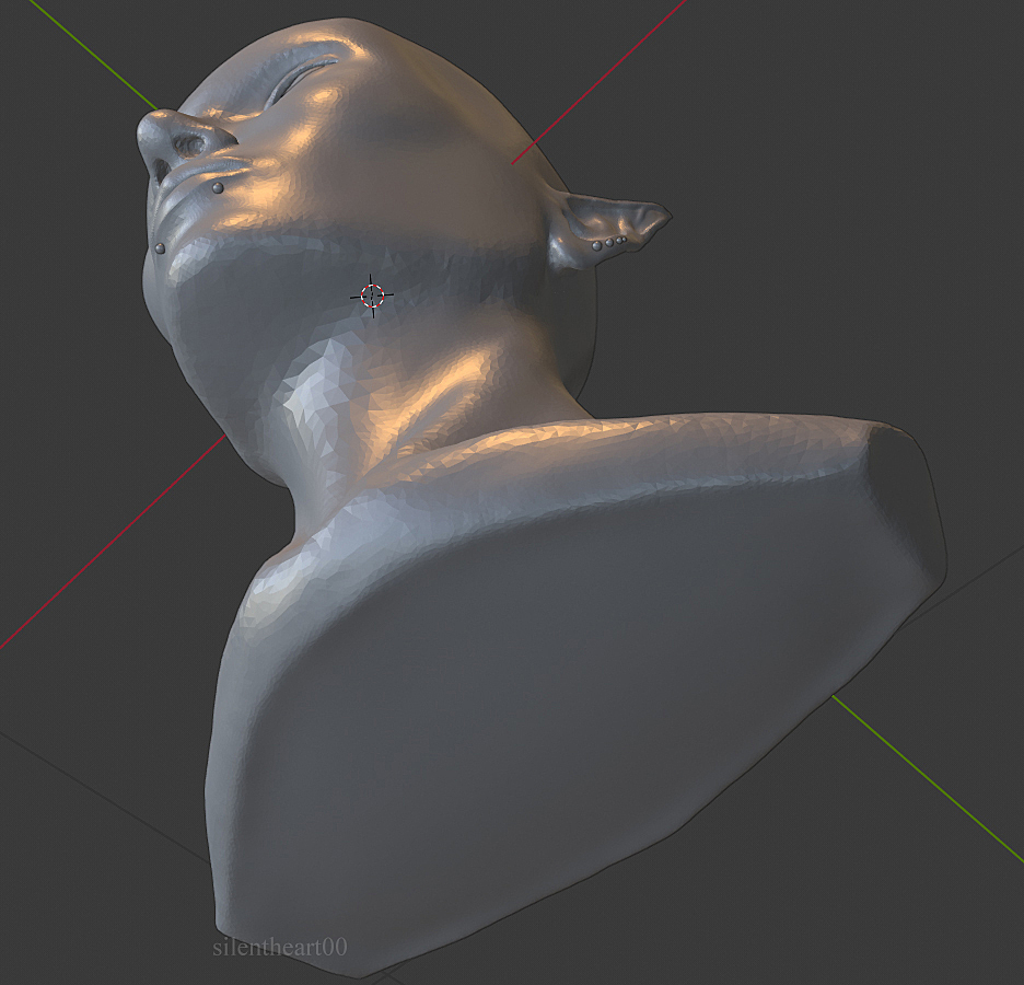 Kilyn Bust Sculpt