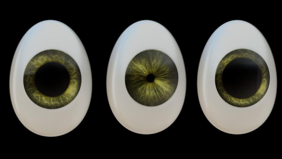 Cartoon Eye Advanced Rig Scale Problem