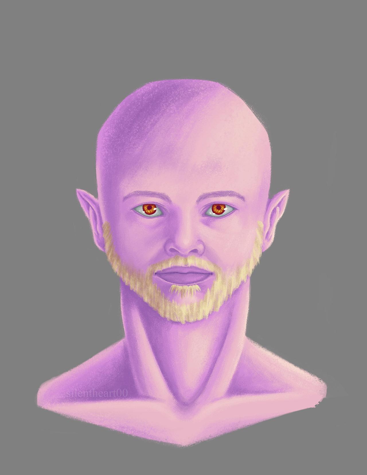 Mordecai Pompinksi Bust Concept