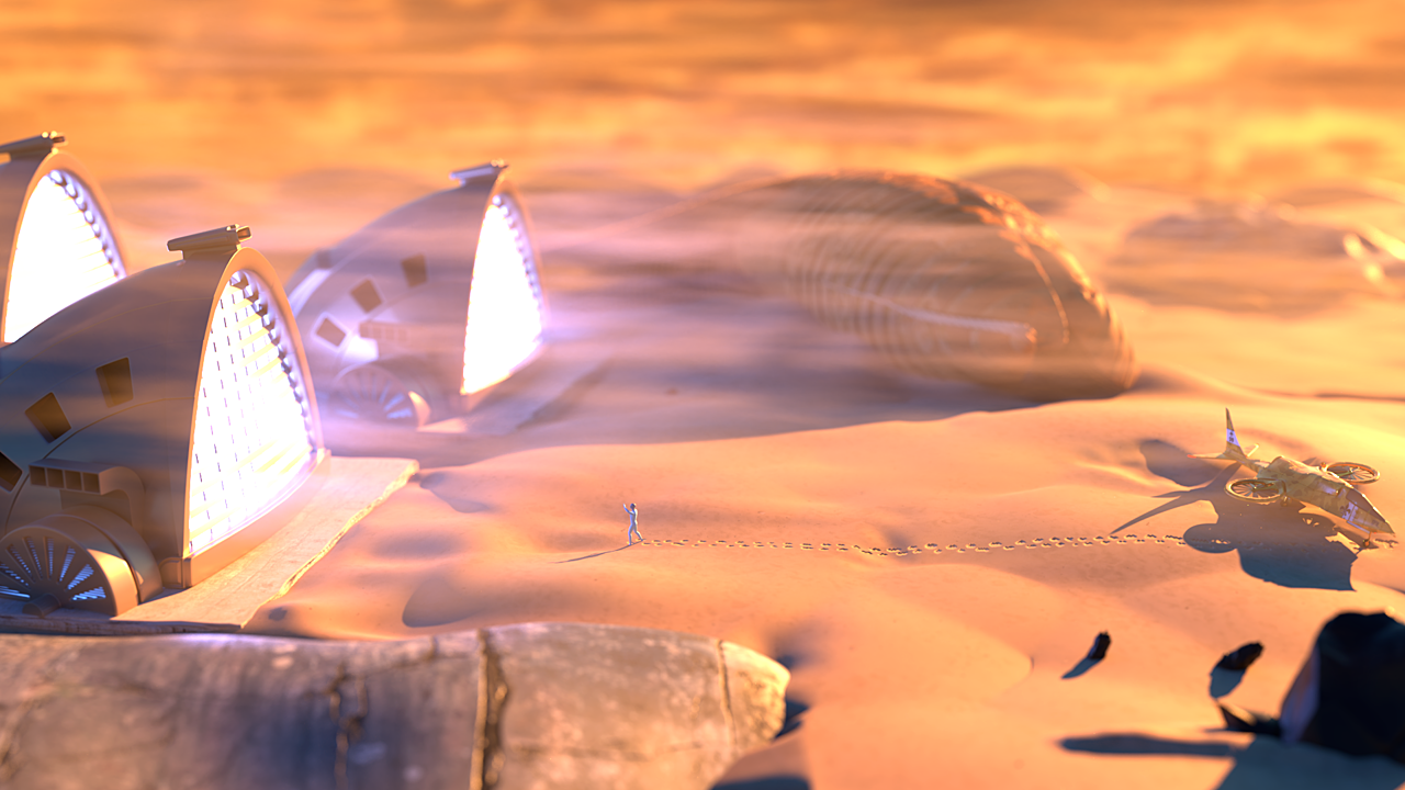 Dune Windfalle
