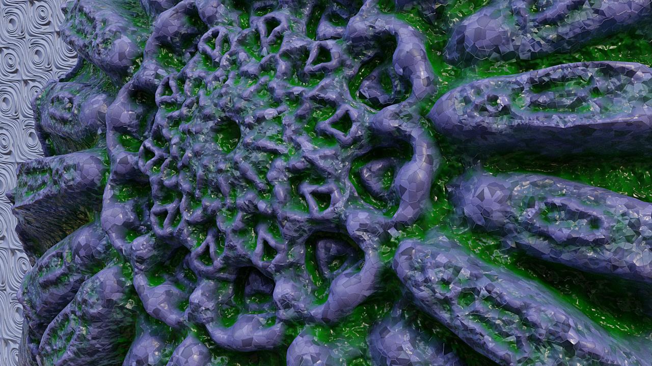 Radial sculpting